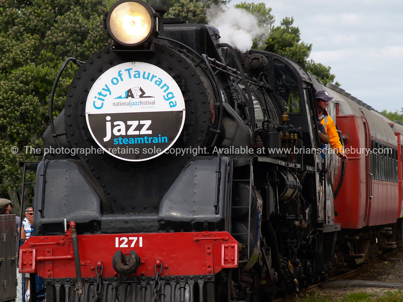 """Steam Train, National Jazz Festival Tauranga 2010. <br /> For more Jazz Festival images check my """"EVENTS"""" catagory. Tauranga is New Zealands 5th largest city and offers a wonderfull variety of scenic and cultural experiences. Tauranga stock images Tauranga scenics. See;  <a href=""""http://www.blurb.com/b/3811392-tauranga"""">http://www.blurb.com/b/3811392-tauranga</a> mount maunganui landscape photography, Tauranga Photos; Tauranga photos, Photos of Tauranga Also see; <a href=""""http://www.brianscantlebury.com/Events"""">http://www.brianscantlebury.com/Events</a>"""