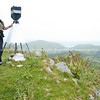 At the trig, Tora Walk. New Zealand Image.