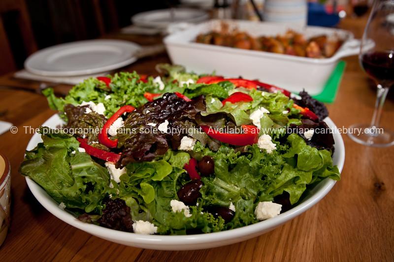 Healthy salad. New Zealand images.