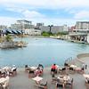 Enjoying the waterside outdoors Wellington New Zealand