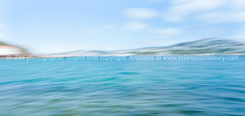 Coastal abstract motion blur Wellington