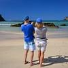 Murray & Tania at Matapouri Bay