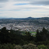 Dunedin City.  In the cold snap in mid May Signal Hill was covered with several inches of snow while the city had only sleet/rain