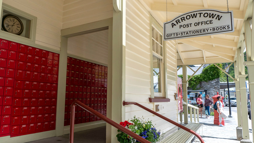 Day Trips From Queenstown: Arrowtown post office