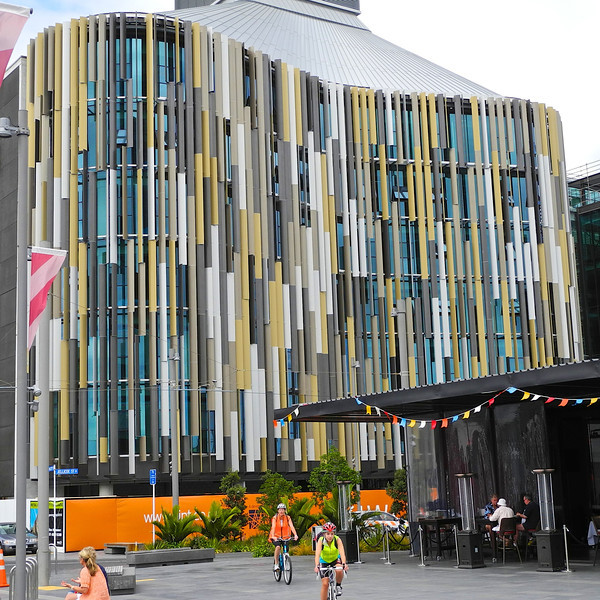 The new ASB building in the Wynyard Quarter in downtown Auckland Jan 2013
