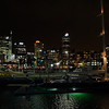 Looking back to the viaduct harbour from the new Wynyard Quarter.