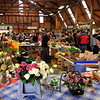 Farmers market at Hobsonville April 2012.