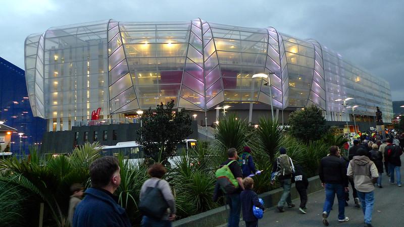 Heading to Eden park for the All Blacks vs Australia match August 2011