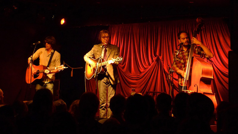 Justin Townes Earle and band at the Kings Arms Tavern in Auckland April 2012.