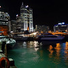 Downtown Auckland from Queens Wharf.