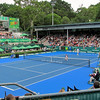 Russell went to the Heineken Open. This is the view from the box.  2012