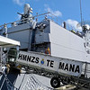 The navy Ship Te Mana Jan 2013