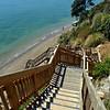 Kennedy Park stairs to beach near Castor Bay