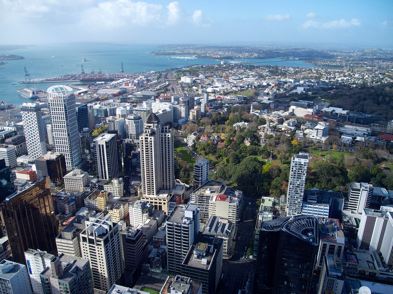 View from the Sky Tower June 2012