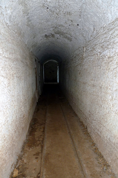 One of the tunnels at North Head linking the gun sites.