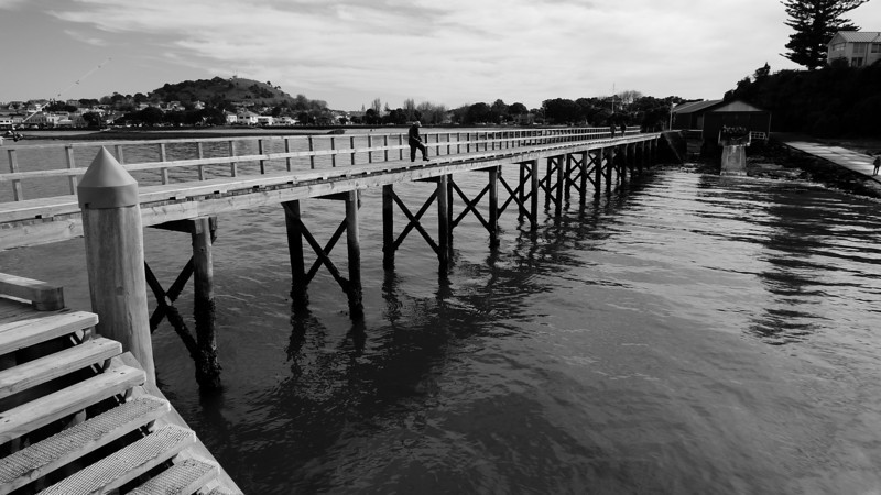 Jetty at North Head Devonport