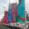 Flags at the Viaduct Harbour