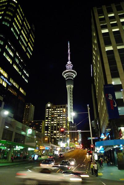 Auckland Sky Tower 2012