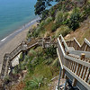 Kennedy Park stairs to beach near Castor Bay