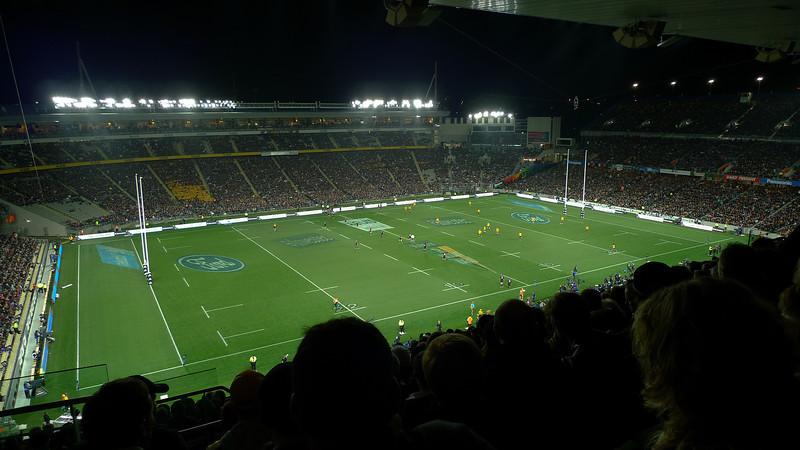 Kick off at the NZ v Australia match August 2011
