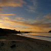 Paihia Beach at sunset