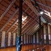 Inside the marae at Waitangi