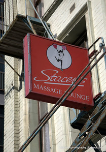 Stacey's Massage lounge in Christchurch, New Zealand in November 2010.
