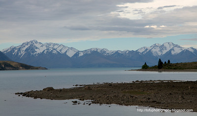 Lake Tekapo in New Zealand in November 2010