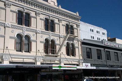 A building in Christchurch, New Zealand in November 2010. Perfect light