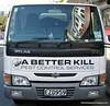 A pest control vehicle Christchurch, New Zealand in November 2010. A better kill