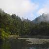 Lake Ohakuri as the mist lifts