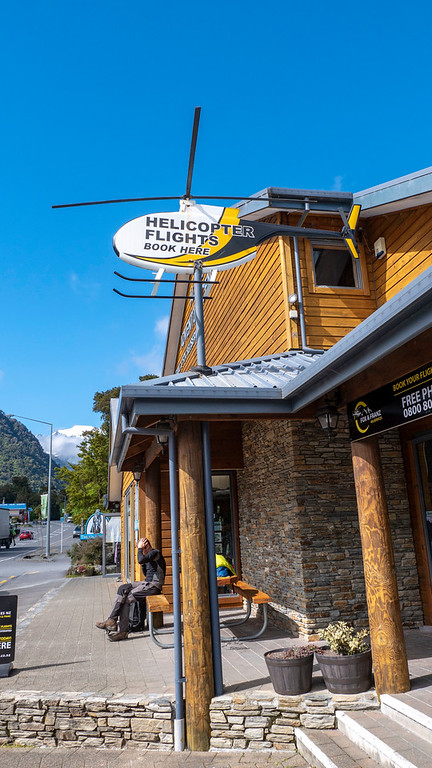 Franz Josef Glacier Helicopter Tour - Heliservices.NZ tour office in Franz Josef