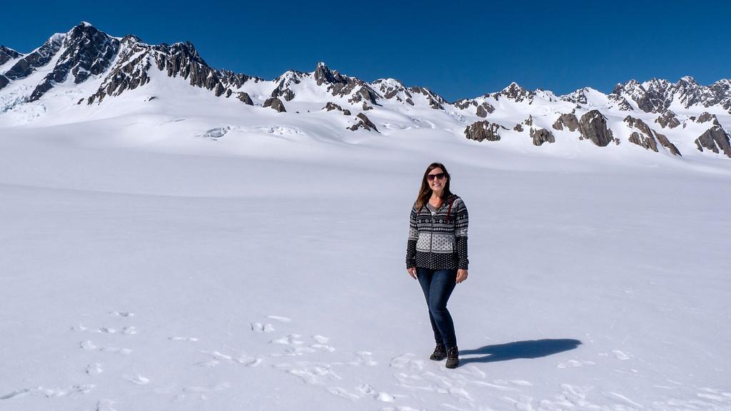 Franz Josef Glacier Helicopter Tour - Snow landing on a glacier
