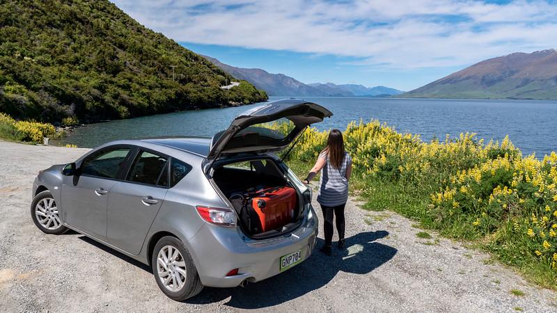 New Zealand rental car