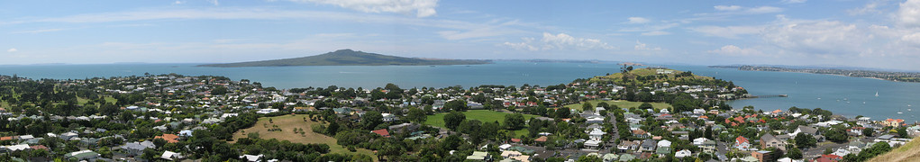Rangitoto Island from Devonport
