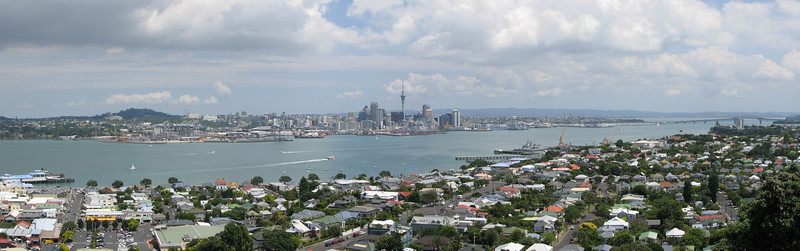 Auckland from Devenport
