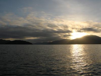 Sunrise kayak from Picton