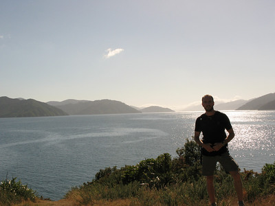 Queen Charlotte Sound from The Snout