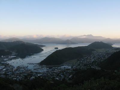 Sunrise over Picton