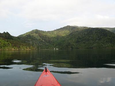Torea Bay looking at Te Kaianga
