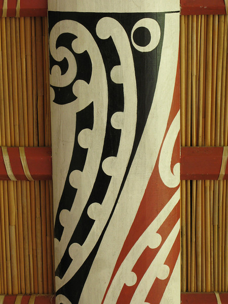 Kowhaiwhai - painter rafter patterns.