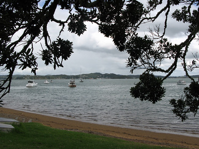 View from Russell towards Paihia (Bay of Islands)