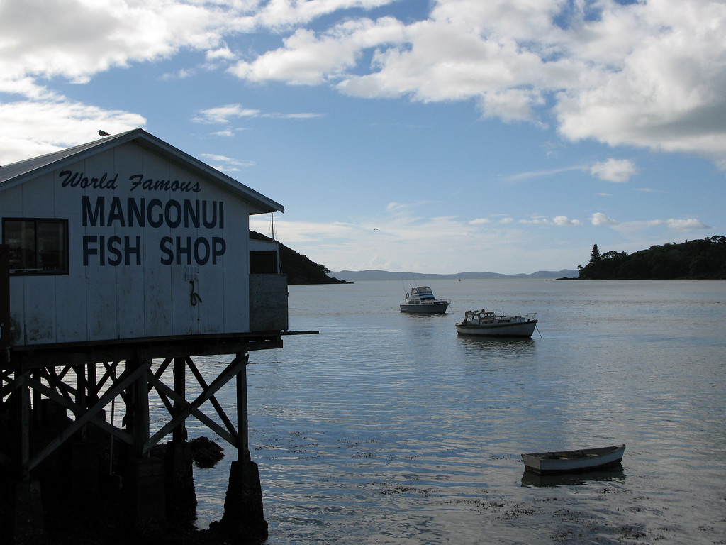Mangonui World Famous Fish Shop