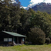Fisherman's cottage on the shore of Lake Wakatipu