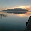 Tos, early morning fishing on Lake Tarawera.