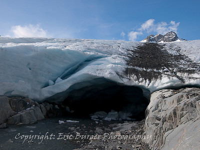 Snout of the Brewster glacier.