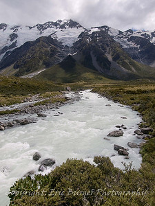 Hooker River and Mount Footstool.