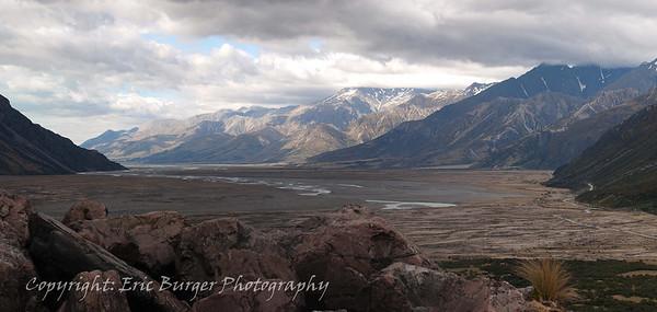 Tasman Valley Panorama.