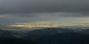 Wairarapa spot light, from Tararua Forest Park ranges