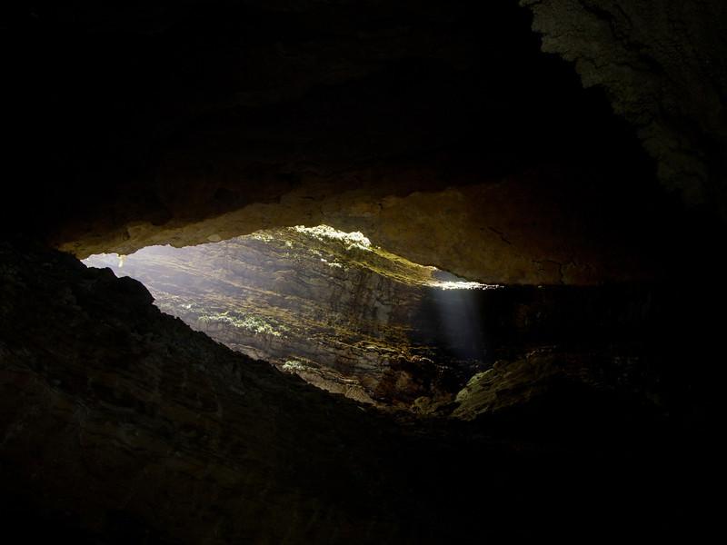 Honeycomb caves: light